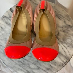 J. Crew Color Block Ballet Flats